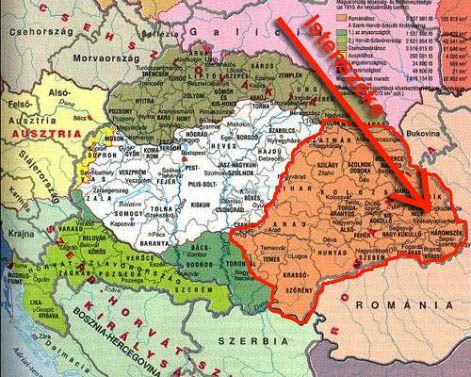 magyarország erdély térkép Erdély magyarország erdély térkép